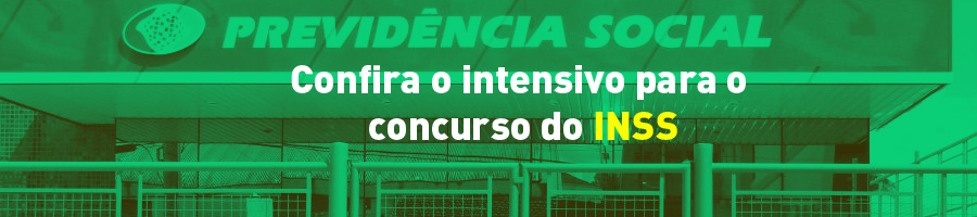 intensivo para o concurso do INSS